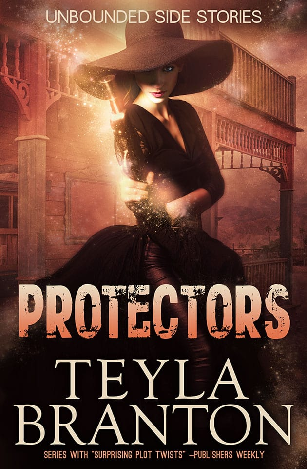 Protectors by Teyla Branton front cover